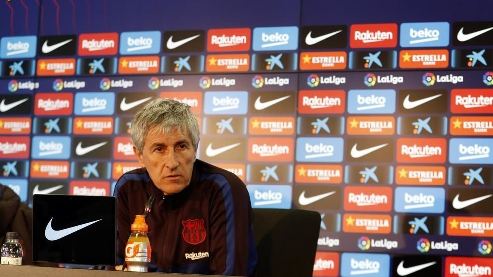 Quique Setien took over as Barcelona's coach earlier this year. As the club's management and fans were unhappy with the club's performances and